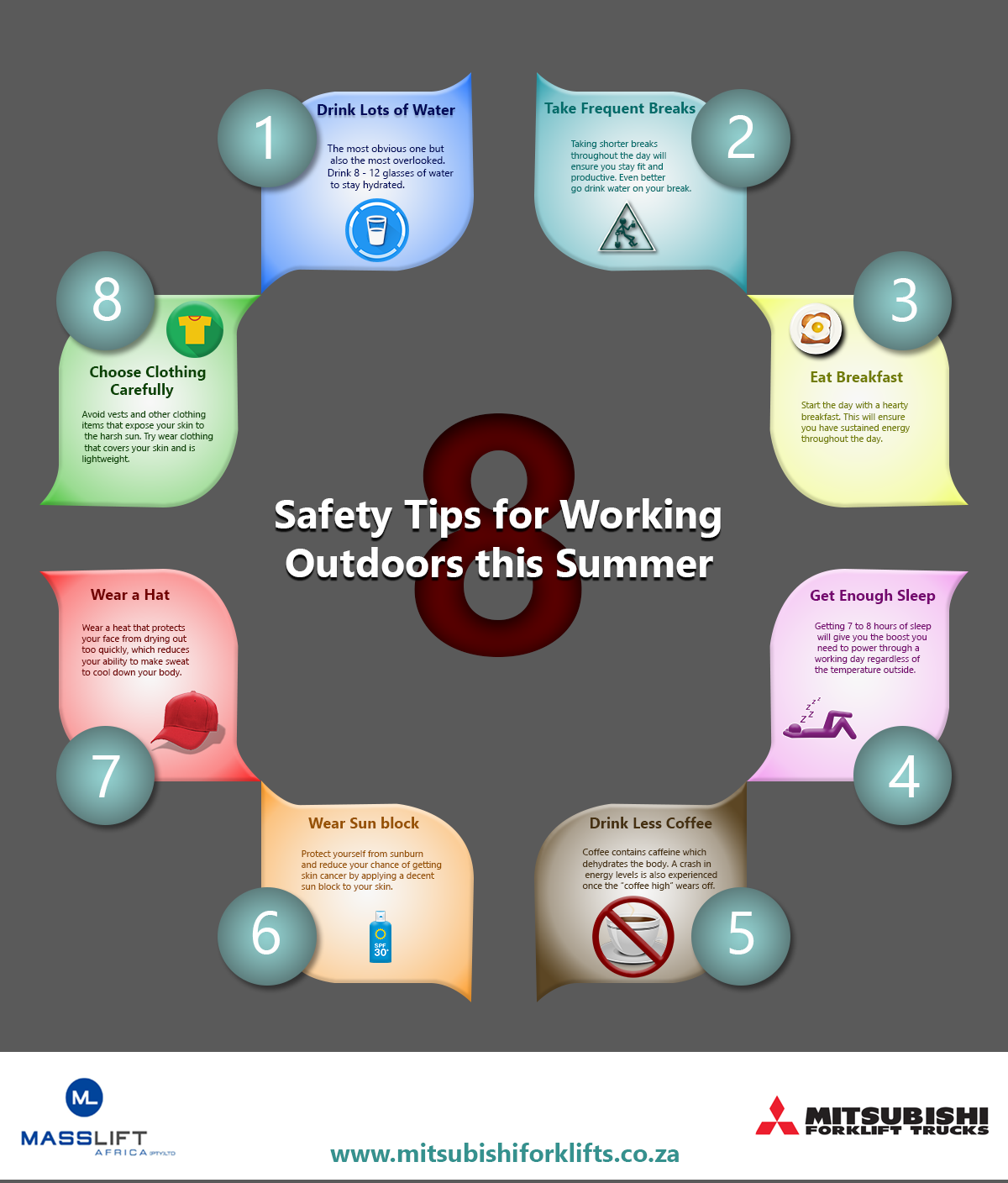 8 Tips for working outdoors