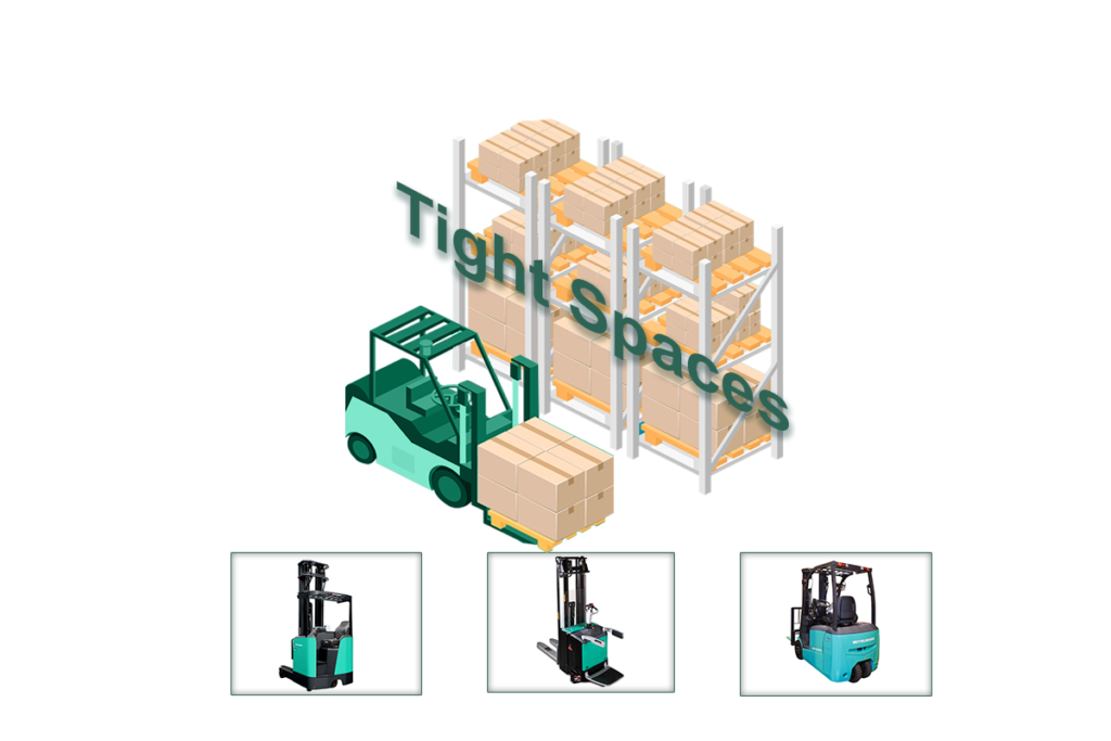 Best forklifts for tight spaces
