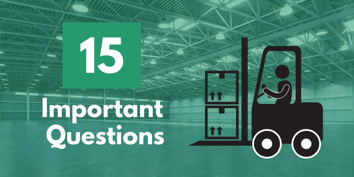 15 questions before renting a forklift